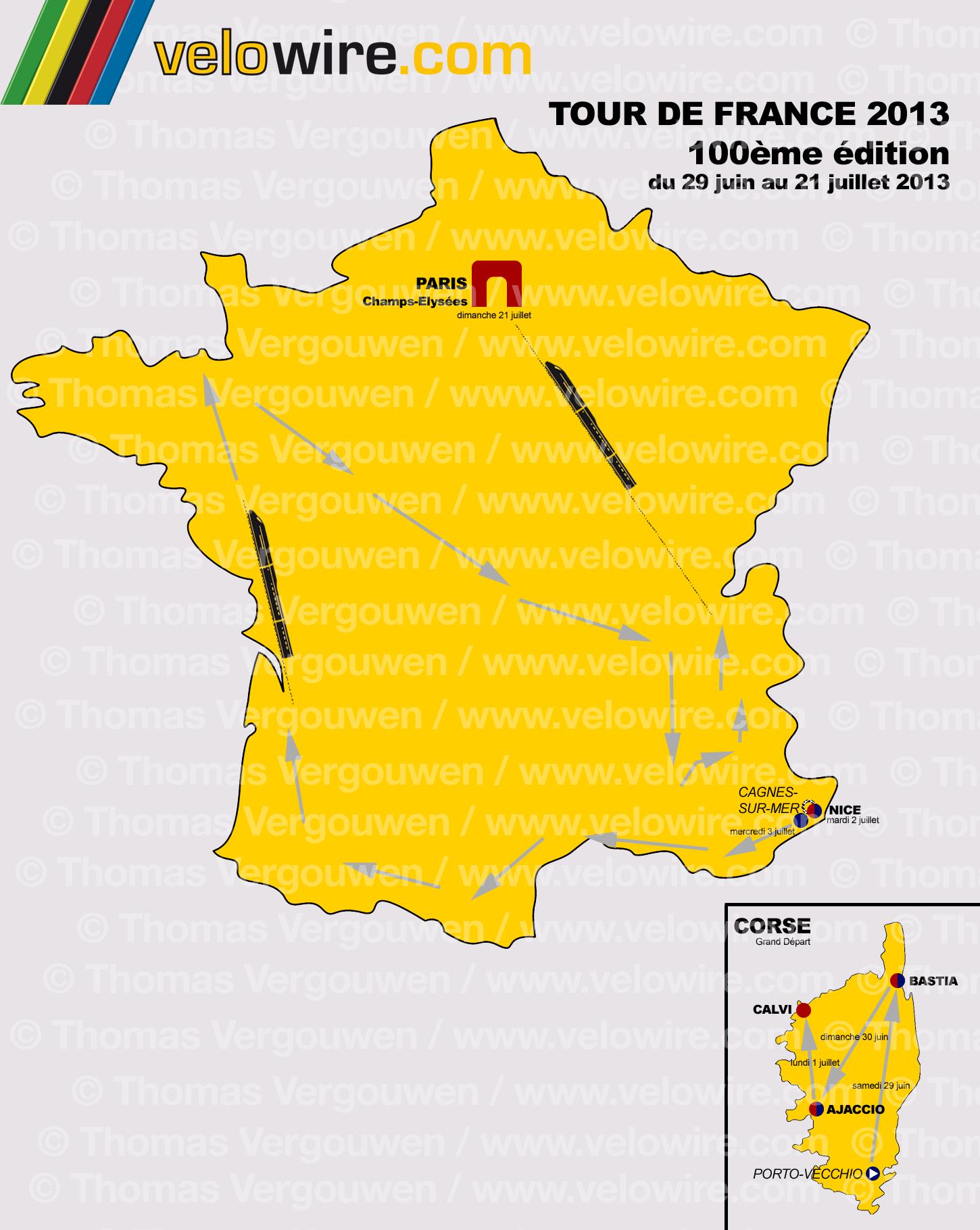 Comeonmylovers.co.uk - Le Tour De France Route 2013