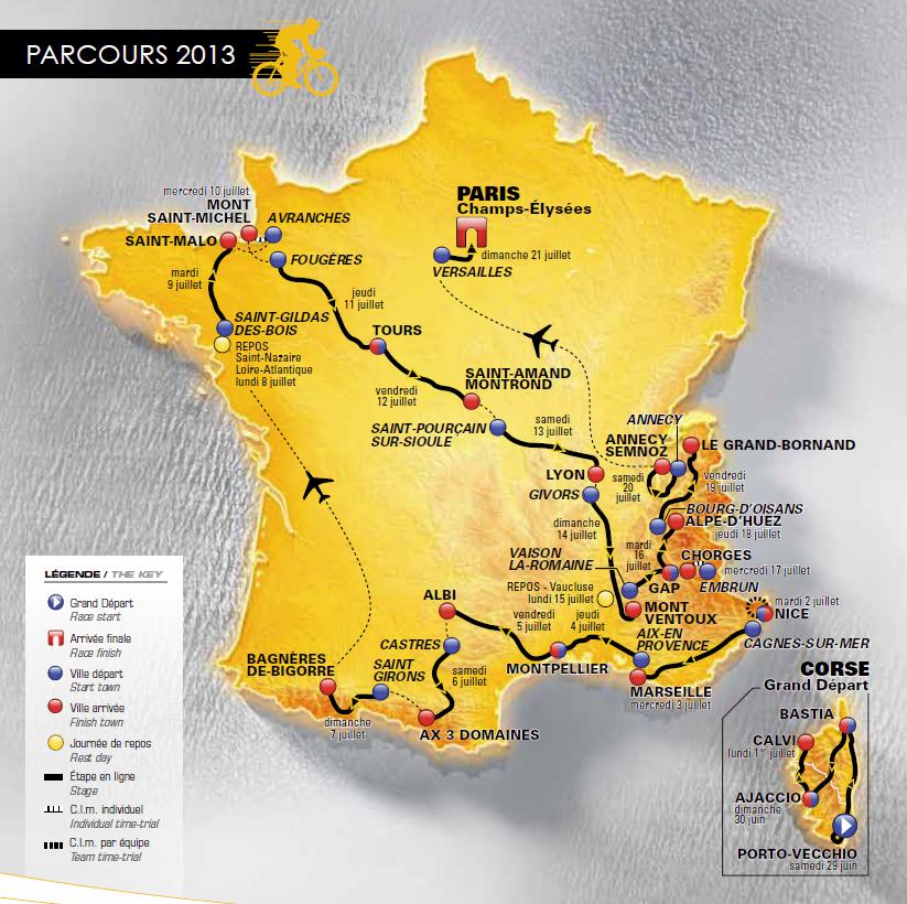 Tour de France 2013: the Hundredth, a legendary Tour? :: Blog :: velowire.com (paris.thover.com ...