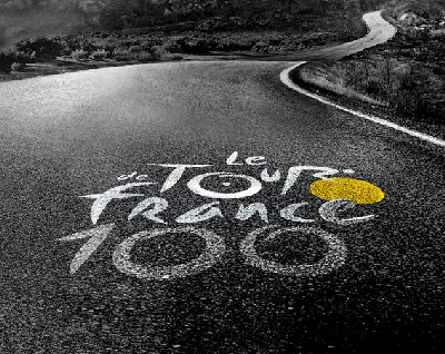 The visual identity of theTour de France 2013