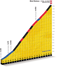 detailed profile 15th stage Tour de France 2013 - © ASO
