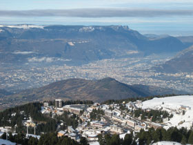 View on Chamrousse and Grenoble - © Stefan Schulz, Creative Commons licence