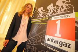 Marion Rousse, ambassadrice d'Antargaz