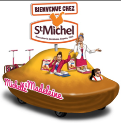 The madeleine truck for St Michel