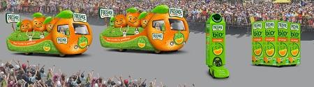 La caravane Pressade - © Newsport