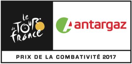 Antargaz, prix de la combativité du Tour de France 2017