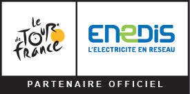 Enedis, partenaire officiel du Tour de France 2017