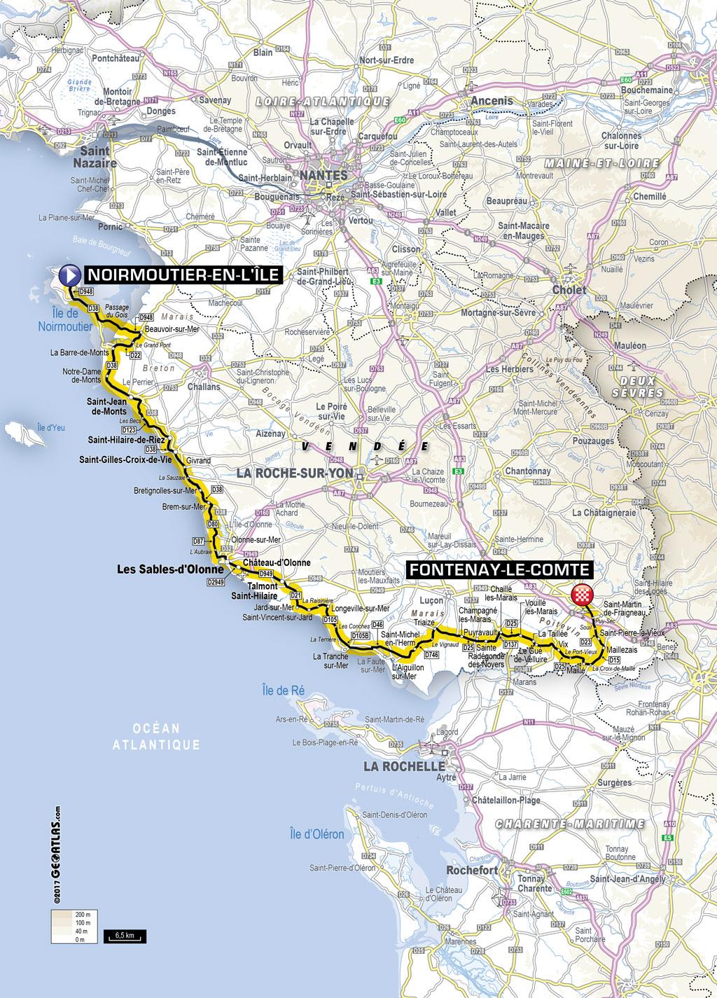 Kilometrage Tour De France