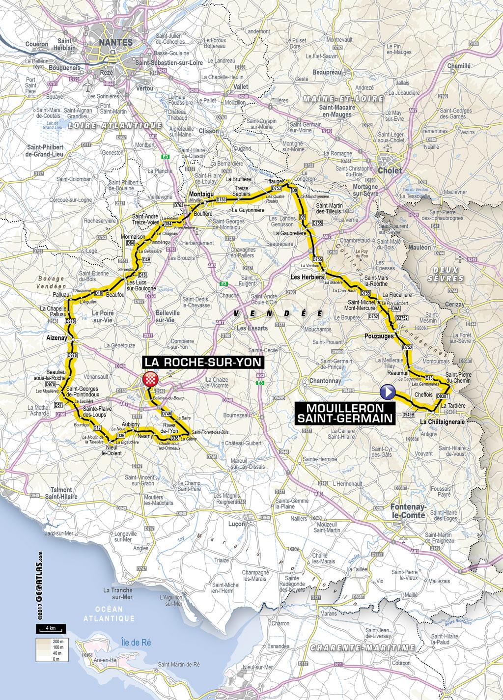 Les détails du Grand Départ du Tour de France 2018 dans le département de la Vendée :: Blog ...