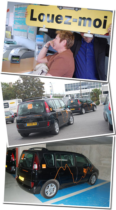 Renault Espace 2012. Espace cars to our offices