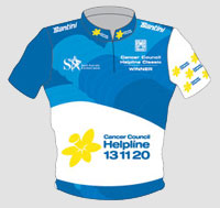 Le maillot du Cancer Council Classic