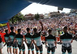 L'équipe Leopard-Trek au Tour Down Under