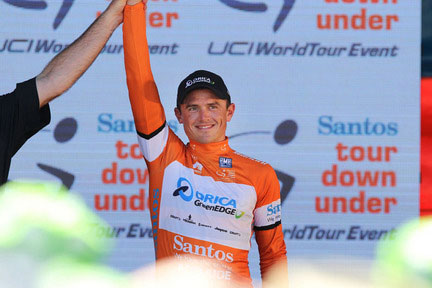 Simon Gerrans wint de Tour Down Under 2014