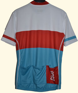The back of the Tourmalet jersey