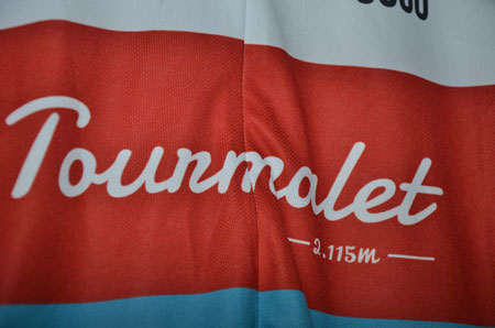 The jersey with the Tourmalet inscription