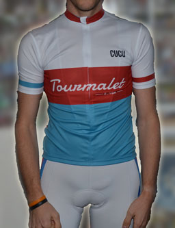 The Tourmalet jersey by CUCU Barcelona