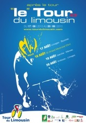 The poster of the Tour du Limousin 2010