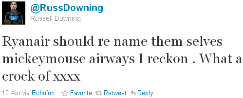 Russell Downing - tweet of the week