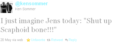 Ken Sommer - tweet of the week
