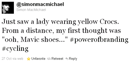 Simon MacMichael - tweet of the week