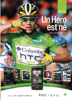 HTC - A hero is born - Mark Cavendish