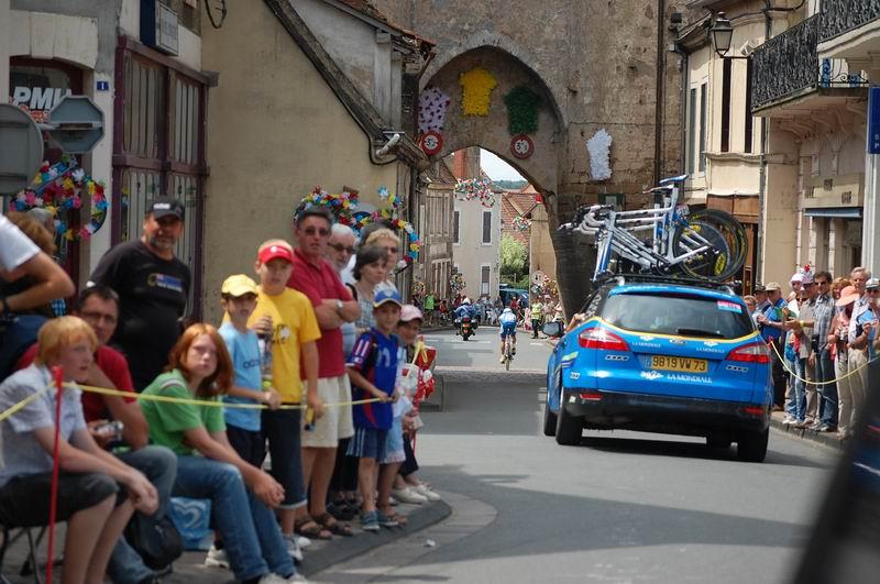 Martin Elmiger (AG2R La Mondiale) in Ainay-le-Château