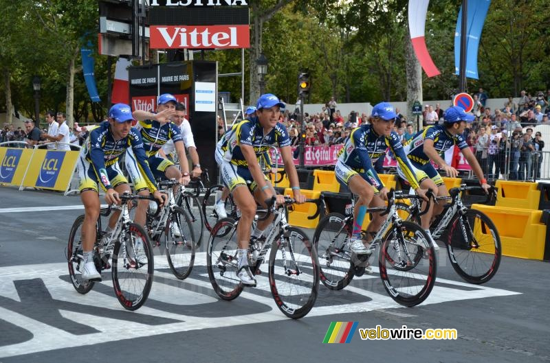 Het Vacansoleil-DCM Pro Cycling Team