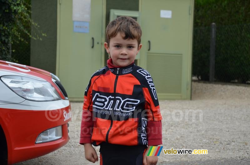 De kleinste BMC Racing Team fan