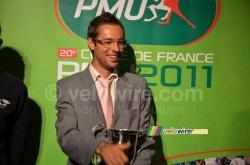 Sylvain Georges à la 3ème place de la Coupe de France PMU - © velowire.com