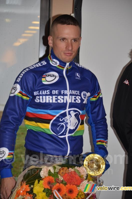 De winnaar: Christophe Delamarre (Bleus de France)
