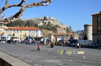 Sisteron, ici lors du départ de Paris-Nice 2012