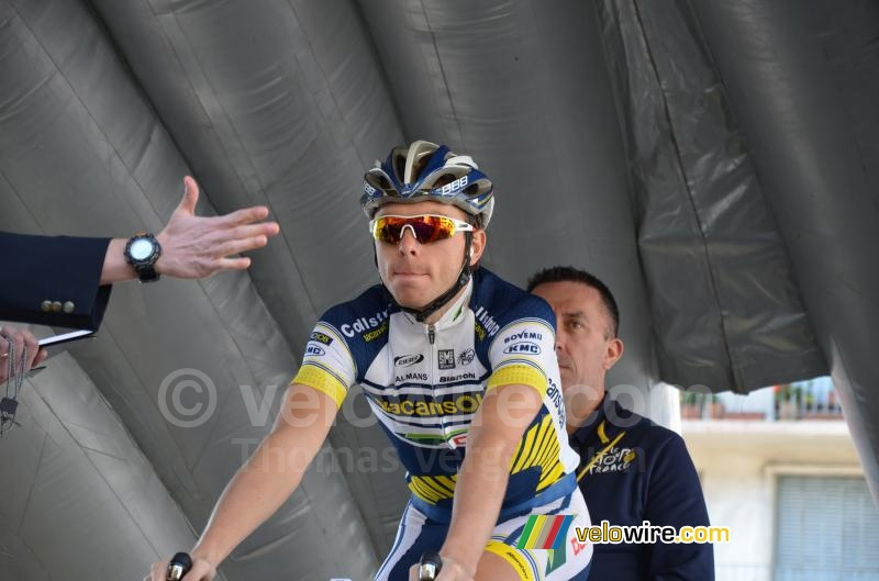 Kris Boeckmans (Vacansoleil-DCM Pro Cycling Team)