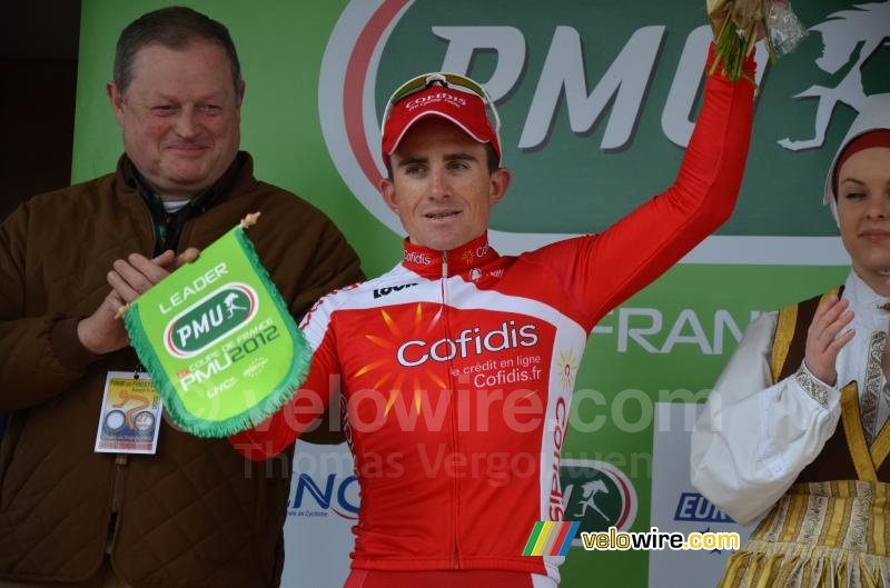 Samuel Dumoulin (Cofidis), leader Coupe de France PMU