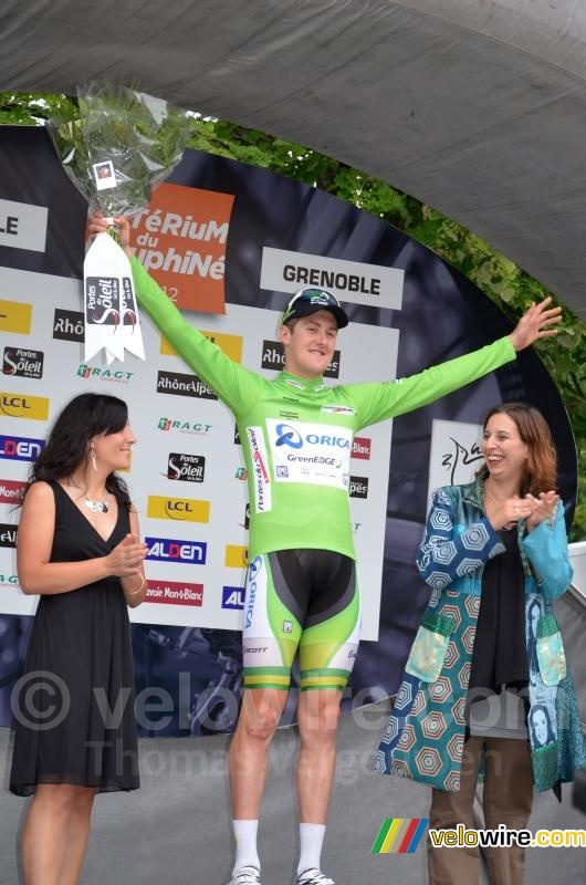 Luke Durbridge (Orica-GreenEDGE), groene trui