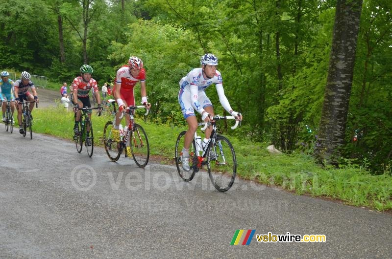 Anthony Roux (FDJ-BigMat) op de Grand Colombier