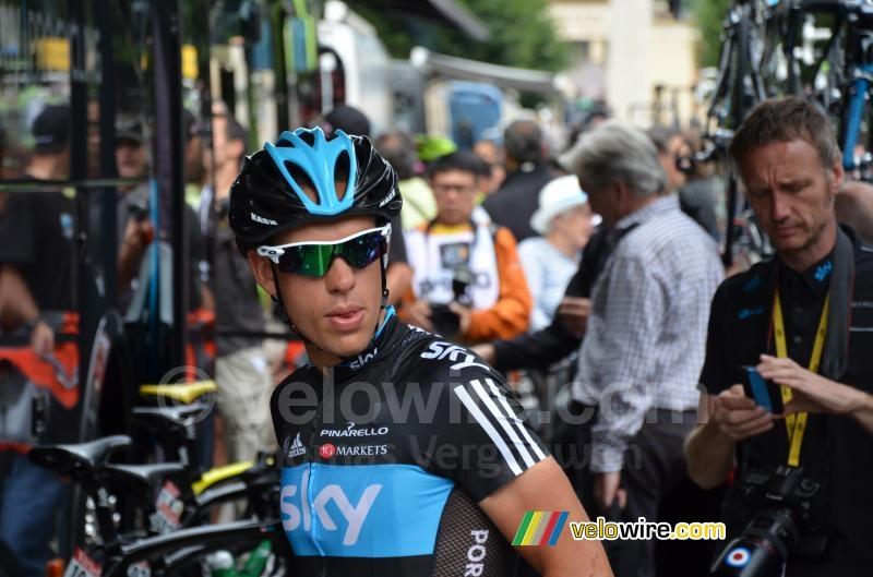 Richie porte team sky photos paris for Richie porte team sky