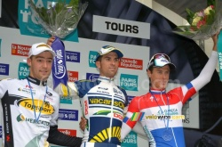 Le podium de Paris-Tours 2012