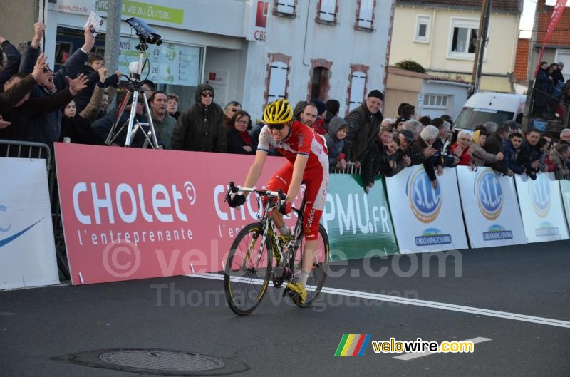 Rein Taaramae (Cofidis) finishes 3rd
