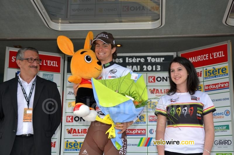 Jules Pijourlet (Chambéry CF),  best young rider