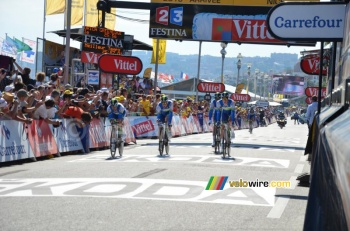 Orica-GreenEDGE à Nice