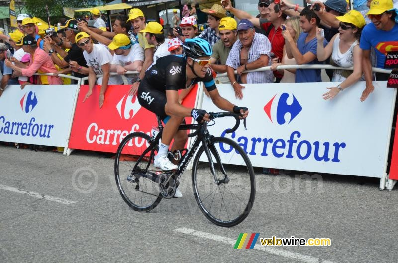 Richie Porte (Team Sky), 2nd