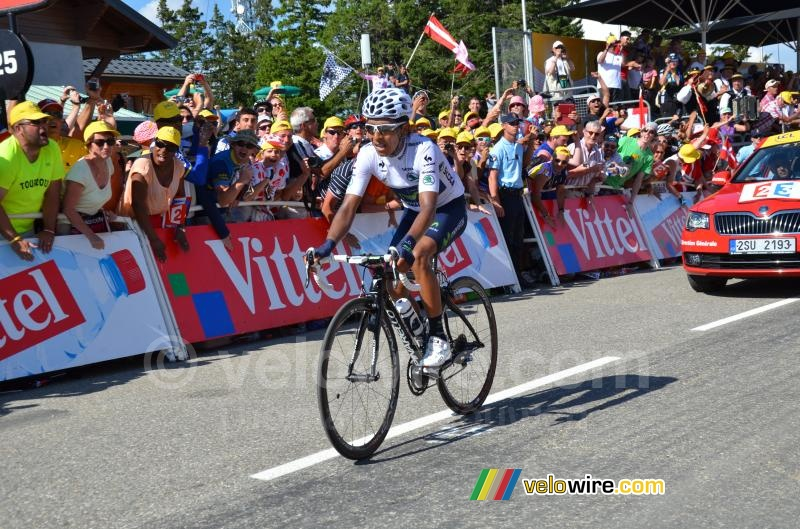 Nairo Quintana (Movistar) finally wins his stage