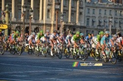 The peloton returns to Paris!
