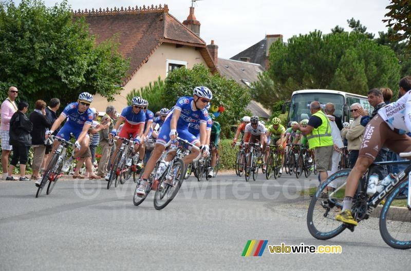 The FDJ.fr team in Mouhers