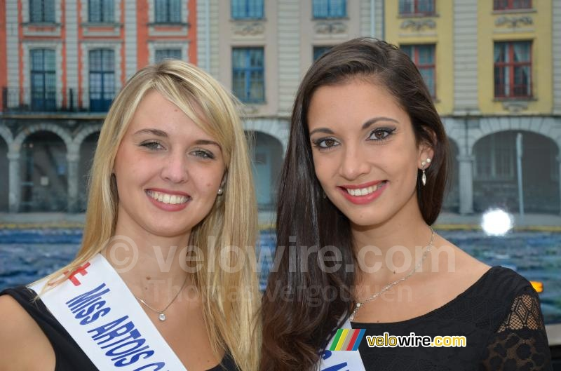 Candice & Mathilde, misses for Grand Prix d'Isbergues