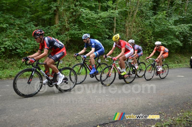 The breakaway in the forest of Nédonchel (2)