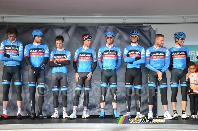 The Garmin-Sharp team