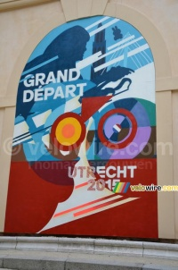 Le logo du Grand Départ du Tour de France 2015