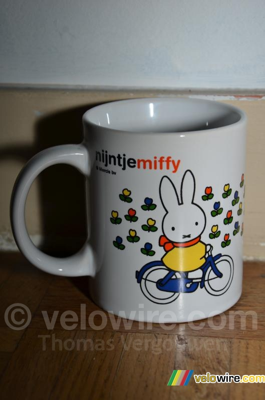 Miffy on her bike, the mascotte of the Grand Départ of the Tour de France 2015 (2)