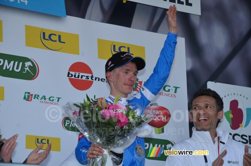 Tom-Jelte Slagter (Garmin-Sharp), stage winner