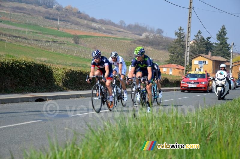 The breakaway close to Ville-sur-Jarnioux